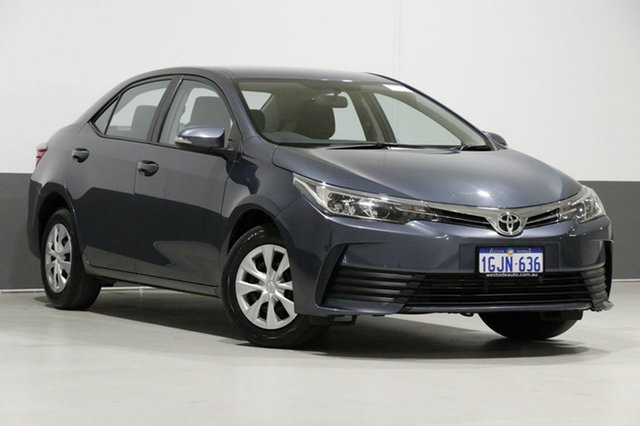 Used Toyota Corolla ZRE172R Ascent, 2017 Toyota Corolla ZRE172R Ascent Grey 7 Speed CVT Auto Sequential Sedan
