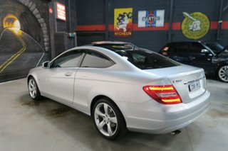 2012 Mercedes-Benz C-Class C204 MY13 C180 BlueEFFICIENCY 7G-TRONIC + Silver 7 Speed Sports Automatic