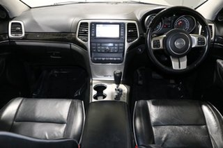 2012 Jeep Grand Cherokee WK MY12 Overland (4x4) Silver 5 Speed Automatic Wagon