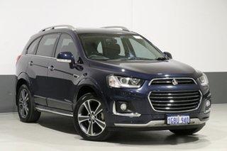 2016 Holden Captiva CG MY16 7 LTZ (AWD) Blue 6 Speed Automatic Wagon.