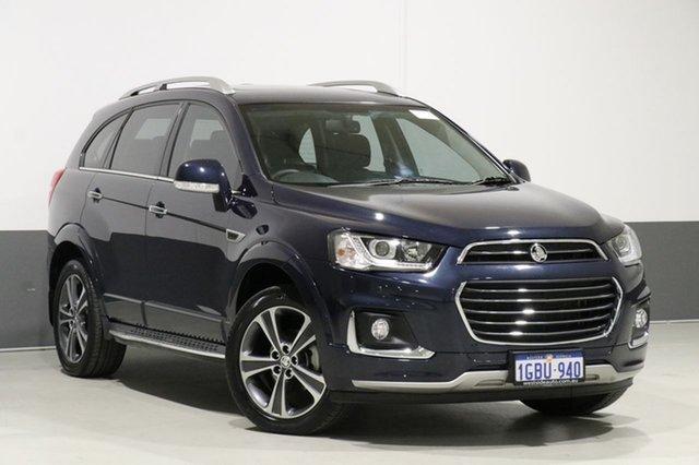 Used Holden Captiva CG MY16 7 LTZ (AWD), 2016 Holden Captiva CG MY16 7 LTZ (AWD) Blue 6 Speed Automatic Wagon