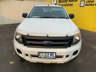 2015 Ford Ranger PX XL Double Cab White 6 Speed Sports Automatic Utility.