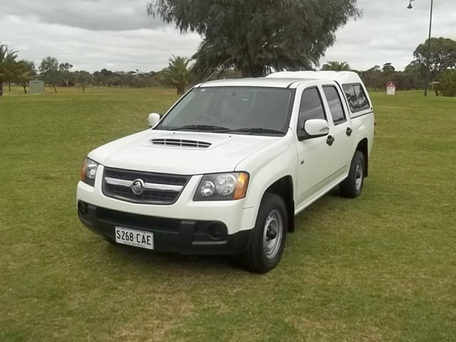 Used Holden Colorado RC LX Crew Cab 4x2, 2008 Holden Colorado RC LX Crew Cab 4x2 White 5 Speed Manual Utility