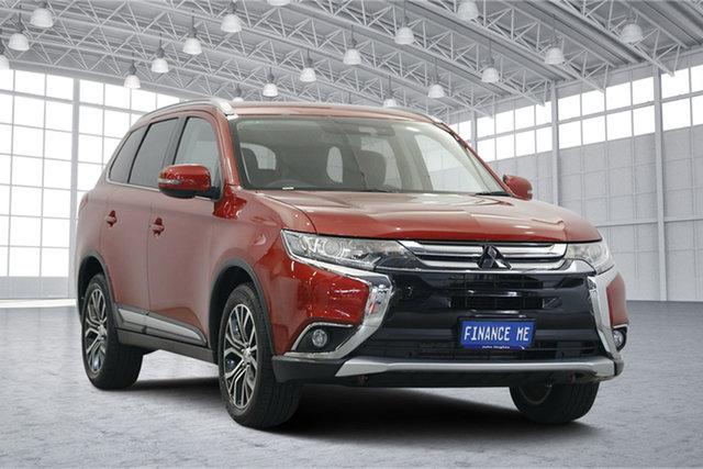 Used Mitsubishi Outlander ZL MY18.5 ES 2WD, 2018 Mitsubishi Outlander ZL MY18.5 ES 2WD Red 6 Speed Constant Variable Wagon