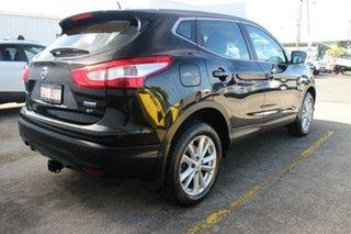 2015 Nissan Qashqai J11 ST Pearl Black 1 Speed Constant Variable Wagon.