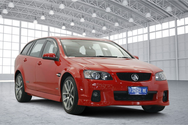 Used Holden Commodore VE II SS V Sportwagon, 2011 Holden Commodore VE II SS V Sportwagon Red 6 Speed Sports Automatic Wagon