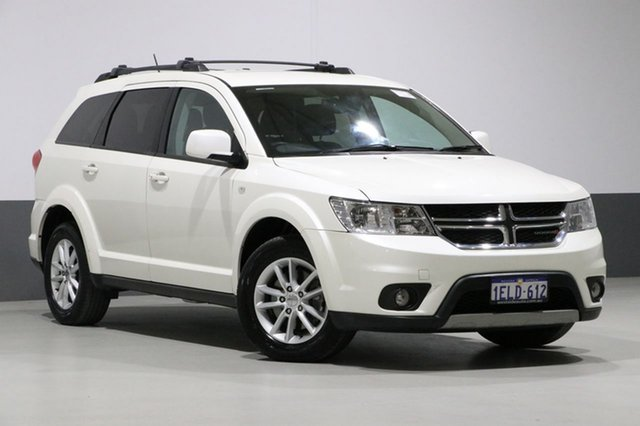 Used Dodge Journey JC MY14 SXT, 2014 Dodge Journey JC MY14 SXT White 6 Speed Automatic Wagon