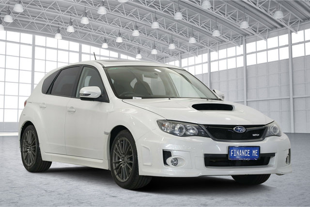 Used Subaru Impreza G3 MY11 WRX AWD, 2011 Subaru Impreza G3 MY11 WRX AWD White 5 Speed Manual Hatchback