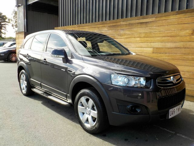 Used Holden Captiva CG Series II MY12 7 SX, 2012 Holden Captiva CG Series II MY12 7 SX Grey 6 Speed Sports Automatic Wagon