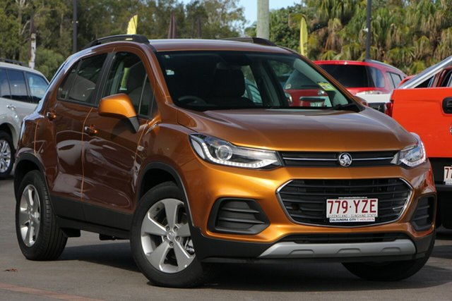 Demo Holden Trax TJ MY19 LS, 2019 Holden Trax TJ MY19 LS Burning Hot 6 Speed Automatic Wagon