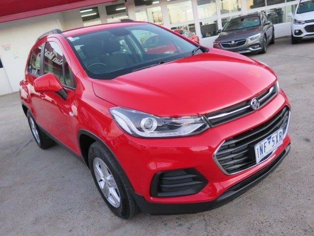 Used Holden Trax TJ MY18 LS, 2018 Holden Trax TJ MY18 LS Red 6 Speed Automatic Wagon