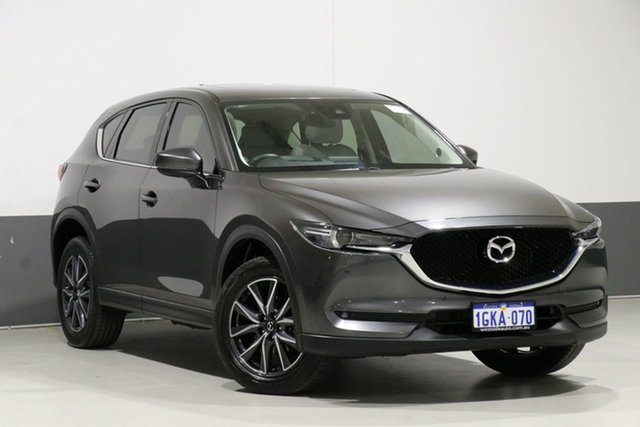 Used Mazda CX-5 MY17 GT (4x4), 2017 Mazda CX-5 MY17 GT (4x4) Grey 6 Speed Automatic Wagon