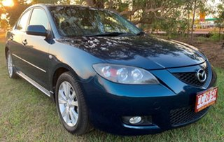 2007 Mazda 3 BK10F2 Maxx Sport Blue 4 Speed Sports Automatic Hatchback.