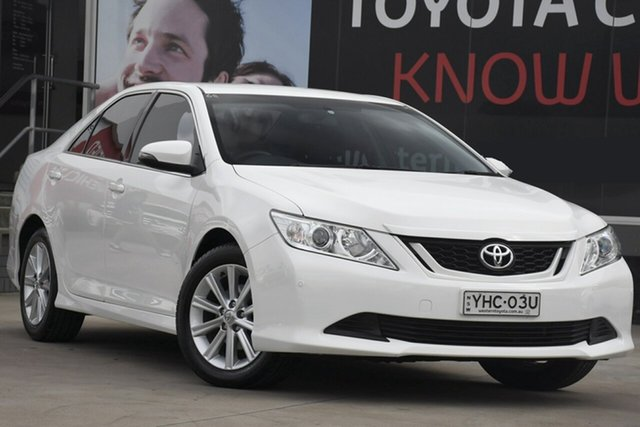 Used Toyota Aurion GSV50R MY15 AT-X, 2016 Toyota Aurion GSV50R MY15 AT-X White 6 Speed Automatic Sedan