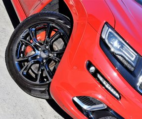 2015 Jeep Grand Cherokee WK MY15 SRT Red/Black 8 Speed Sports Automatic Wagon.