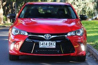 2016 Toyota Camry ASV50R RZ Cherry 6 Speed Sports Automatic Sedan.