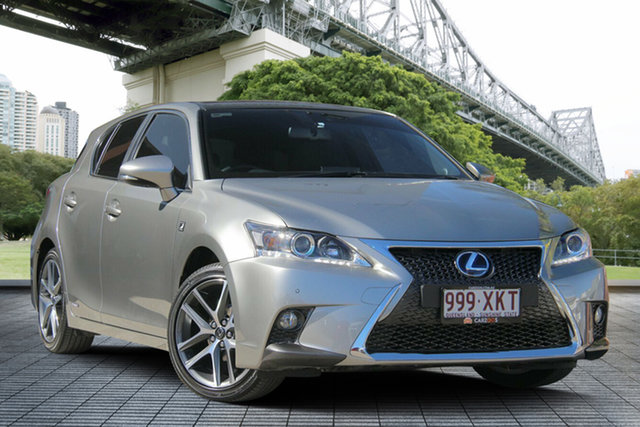 Used Lexus CT200H ZWA10R MY16 F Sport, 2017 Lexus CT200H ZWA10R MY16 F Sport Bronze 1 Speed Constant Variable Hatchback Hybrid