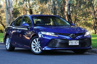 2018 Toyota Camry ASV70R Ascent Lunar Blue 6 Speed Sports Automatic Sedan.