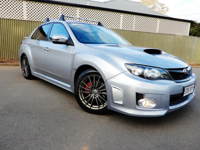 Used Subaru Impreza G3 MY12 WRX AWD, 2011 Subaru Impreza G3 MY12 WRX AWD Silver 5 Speed Manual Sedan