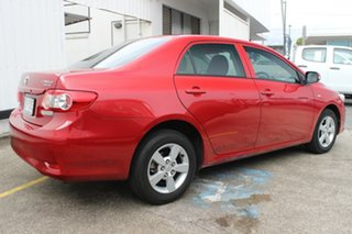 2012 Toyota Corolla ZRE152R MY11 Ascent Red 4 Speed Automatic Hatchback