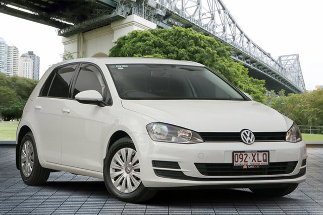 Used Volkswagen Golf VII 90TSI DSG, 2013 Volkswagen Golf VII 90TSI DSG White 7 Speed Sports Automatic Dual Clutch Hatchback