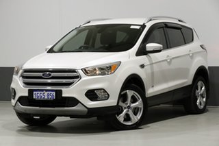 2017 Ford Escape ZG Trend (AWD) Frozen White 6 Speed Automatic Wagon.