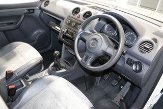 2013 Volkswagen Caddy 2K MY13 Maxi TDI250 White 5 Speed Manual Van