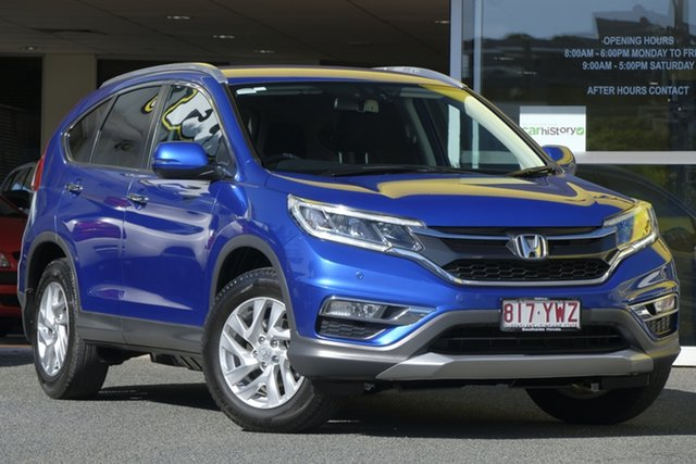 Used Honda CR-V RM Series II MY16 VTi-S, 2014 Honda CR-V RM Series II MY16 VTi-S Blue 5 Speed Sports Automatic Wagon