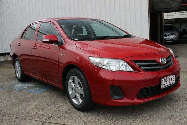 Used Toyota Corolla ZRE152R MY11 Ascent, 2012 Toyota Corolla ZRE152R MY11 Ascent Red 4 Speed Automatic Hatchback