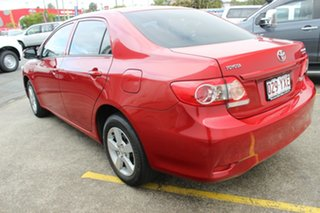 2012 Toyota Corolla ZRE152R MY11 Ascent Red 4 Speed Automatic Hatchback.