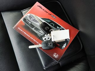 2010 Honda Accord Euro CU MY10 Luxury Silver 5 Speed Automatic Sedan