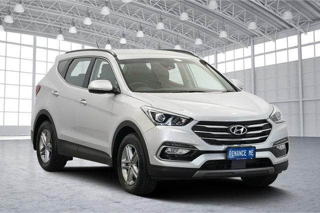 Used Hyundai Santa Fe DM5 MY18 Active, 2018 Hyundai Santa Fe DM5 MY18 Active Platinum Silver Metallic 6 Speed Sports Automatic Wagon