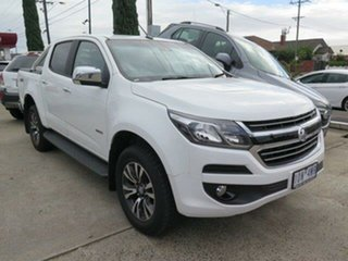 2018 Holden Colorado RG MY19 LTZ (4x4) Summit White 6 Speed Automatic Crew Cab Pickup