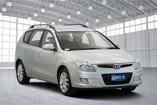 Used Hyundai i30 FD MY09 SLX cw Wagon, 2009 Hyundai i30 FD MY09 SLX cw Wagon Continental Silver 4 Speed Automatic Wagon