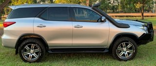 2016 Toyota Fortuner GUN156R GXL Silver 6 Speed Automatic Wagon.