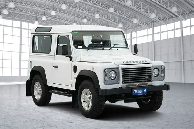Used Land Rover Defender 90 15MY , 2014 Land Rover Defender 90 15MY White 6 Speed Manual Wagon