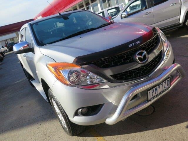 Used Mazda BT-50 UP0YF1 GT, 2012 Mazda BT-50 UP0YF1 GT Silver 6 Speed Sports Automatic Utility