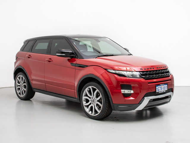 Used Land Rover Range Rover Evoque LV SI4 Dynamic, 2012 Land Rover Range Rover Evoque LV SI4 Dynamic Red 6 Speed Automatic Wagon