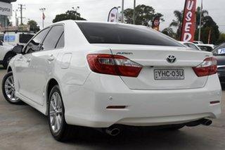 2016 Toyota Aurion GSV50R MY15 AT-X White 6 Speed Automatic Sedan.