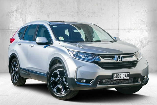 Demo Honda CR-V RW MY19 VTi-L FWD, 2018 Honda CR-V RW MY19 VTi-L FWD Lunar Silver 1 Speed Constant Variable Wagon