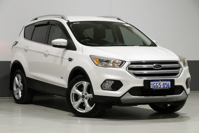 Used Ford Escape ZG Trend (AWD), 2017 Ford Escape ZG Trend (AWD) Frozen White 6 Speed Automatic Wagon