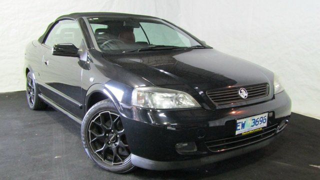 Used Holden Astra TS MY03 , 2004 Holden Astra TS MY03 Carbon Black 5 Speed Manual Convertible