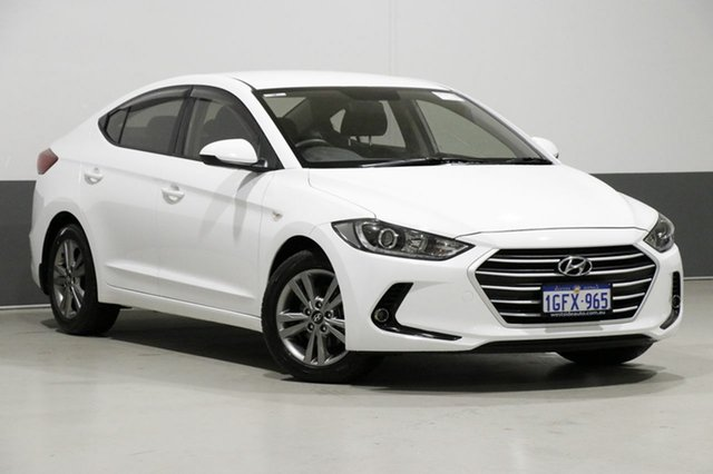 Used Hyundai Elantra AD Active 2.0 MPI, 2017 Hyundai Elantra AD Active 2.0 MPI White 6 Speed Automatic Sedan