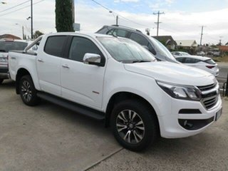 2018 Holden Colorado RG MY19 LTZ (4x4) Summit White 6 Speed Automatic Crew Cab Pickup.