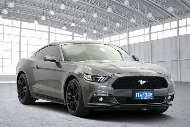 Used Ford Mustang FM 2017MY Fastback, 2016 Ford Mustang FM 2017MY Fastback Magnetic 6 Speed Manual Fastback