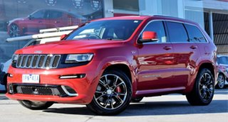 2015 Jeep Grand Cherokee WK MY15 SRT Red/Black 8 Speed Sports Automatic Wagon.