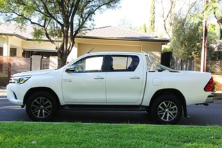 2016 Toyota Hilux GUN126R SR5 Double Cab Crystal Pearl 6 Speed Sports Automatic Utility