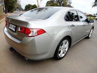 2010 Honda Accord Euro CU MY10 Luxury Silver 5 Speed Automatic Sedan.