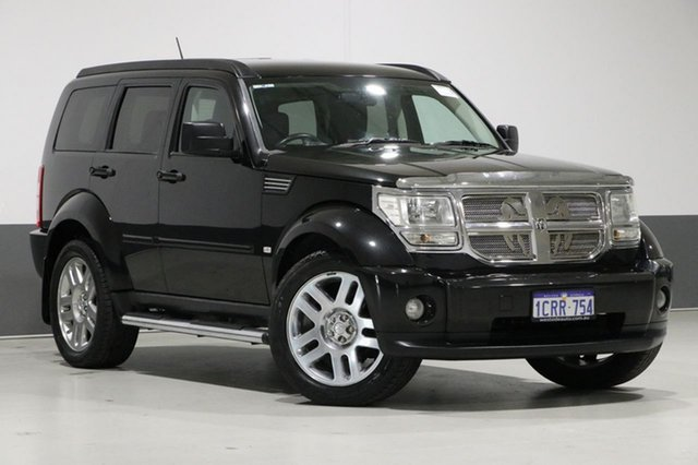 Used Dodge Nitro KA SXT, 2008 Dodge Nitro KA SXT Black 4 Speed Automatic Wagon