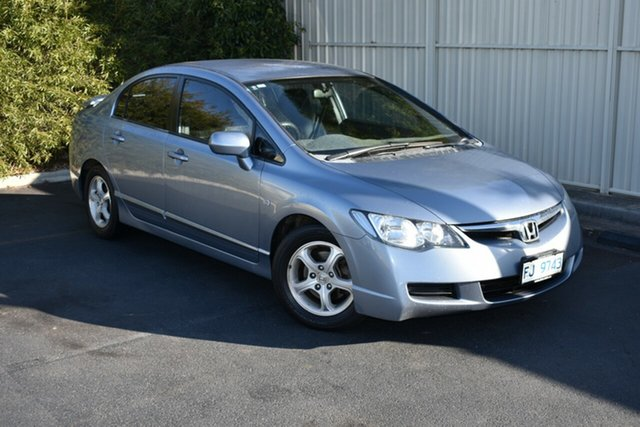 Used Honda Civic 8th Gen VTi, 2006 Honda Civic 8th Gen VTi Blue 5 Speed Manual Sedan
